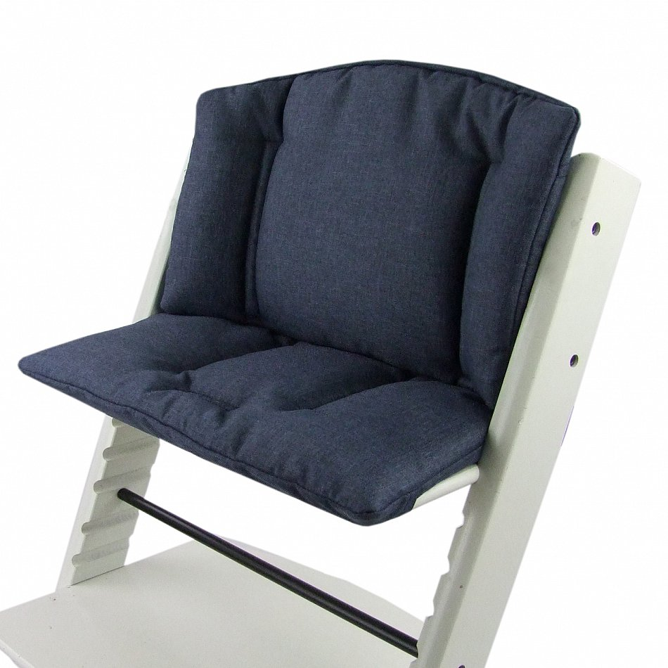 bambiniwelt sitzkissen sitzverkleinerer stokke tripp trapp marine meliert ebay. Black Bedroom Furniture Sets. Home Design Ideas