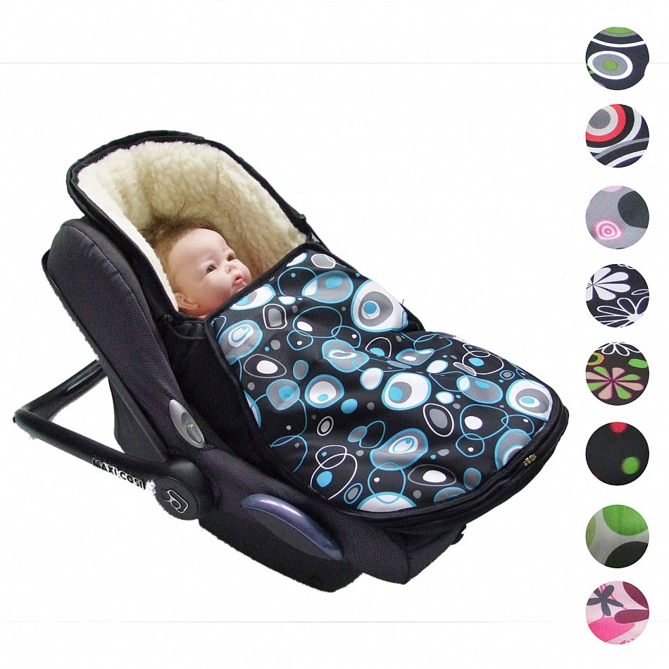 bambiniwelt winterfu sack f r babyschale maxi cosi pebble. Black Bedroom Furniture Sets. Home Design Ideas