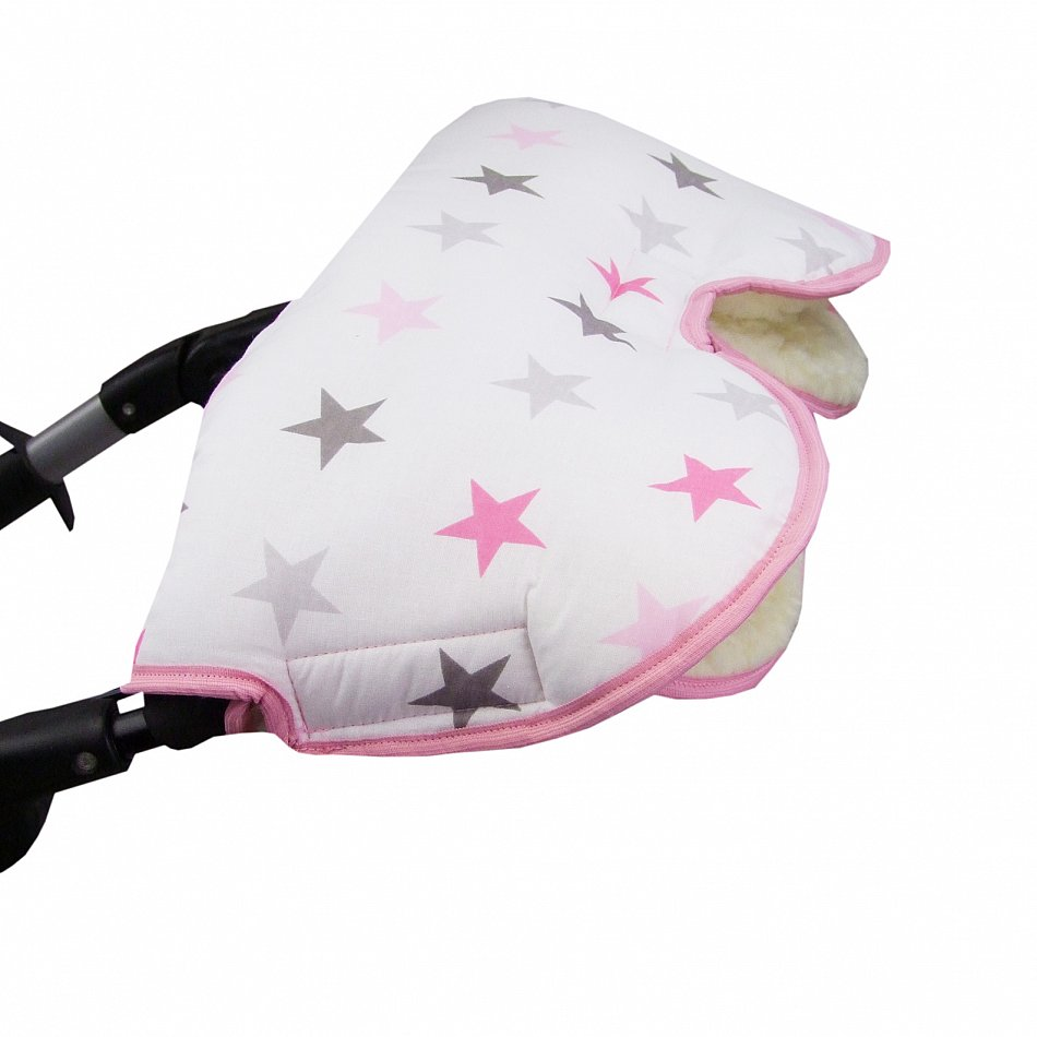 Kinderwagenhandschuh Handwärmer Handmuff Kälteschutz Winddicht Oxford-Lammwolle