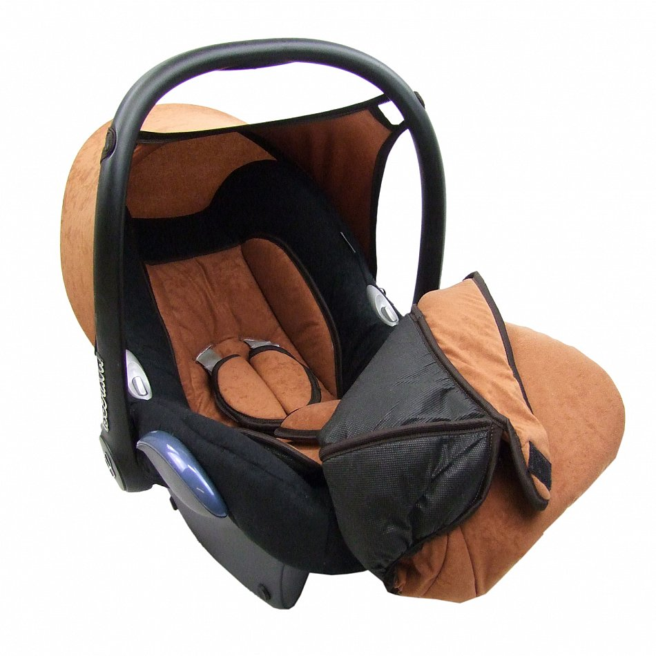 bambiniwelt ersatzbezug f r babyschale maxi cosi cabriofix velour braun marine ebay. Black Bedroom Furniture Sets. Home Design Ideas