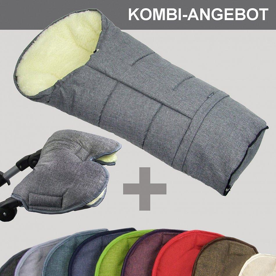 bambiniwelt muff mumie winterfu sack jogger buggy. Black Bedroom Furniture Sets. Home Design Ideas
