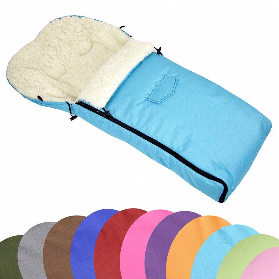 universaler fu sack lammwolle winterfu sack f r. Black Bedroom Furniture Sets. Home Design Ideas
