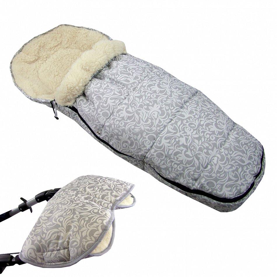 winterfusssack muff f r kinderwagen mit lammwolle handmuff wolle xxl 110cm d10 ebay. Black Bedroom Furniture Sets. Home Design Ideas