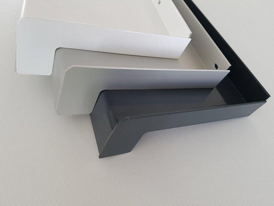 fensterb nke aluminium 50 500mm nach ma alu fensterbank weiss silber anthrazit ebay. Black Bedroom Furniture Sets. Home Design Ideas