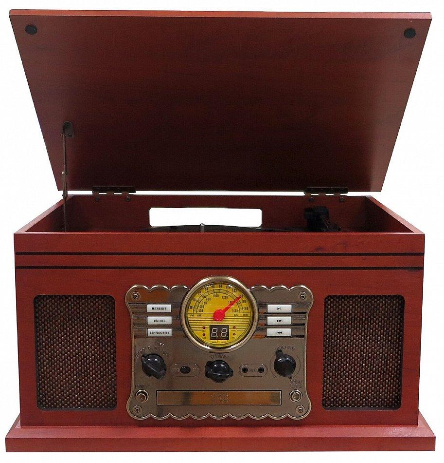 nostalgie retro kompaktanlage plattenspieler. Black Bedroom Furniture Sets. Home Design Ideas