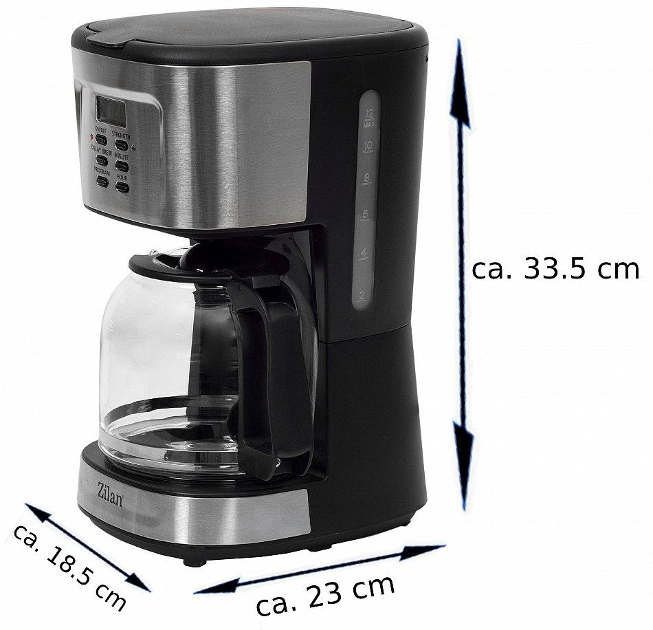 kaffeemaschine filterkaffeemaschine kaffeefiltermaschine timer 12 tassen 4260460589118. Black Bedroom Furniture Sets. Home Design Ideas