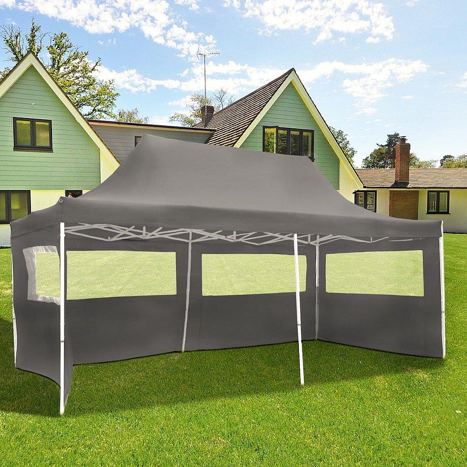 3x6m faltpavillon pavillon klappzelt gartenzelt festzelt partyzelt b ware ebay. Black Bedroom Furniture Sets. Home Design Ideas