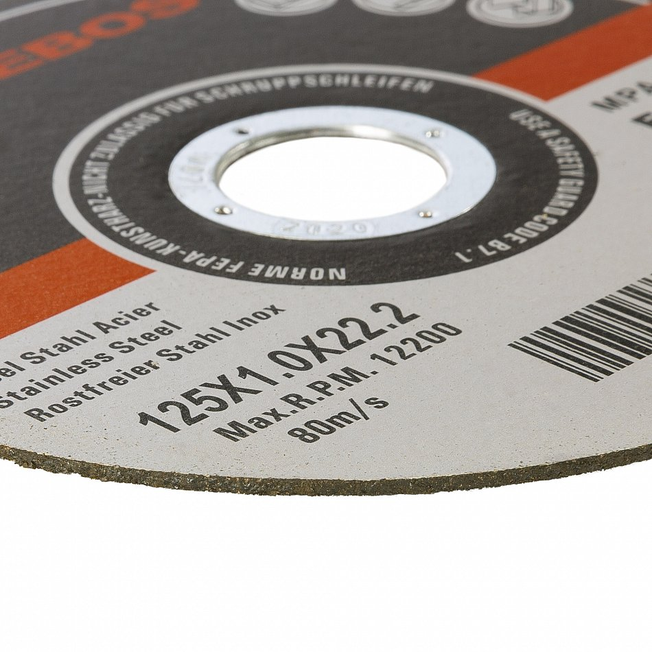 50/% mehr Leistung Empora Trennscheibe Ø125 x1mm 50 Stück INOX Edelstahl Metall