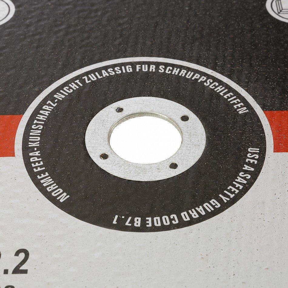 trennscheiben 100 st ck 230 mm flexscheiben inox edelstahl metall stahl 2 mm ebay. Black Bedroom Furniture Sets. Home Design Ideas