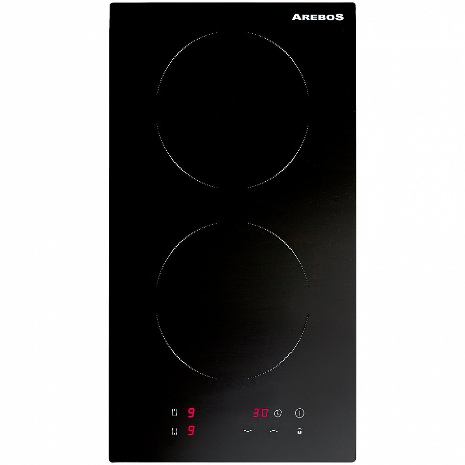 double plaque de cuisson induction contr le tactile cuisini re ebay. Black Bedroom Furniture Sets. Home Design Ideas