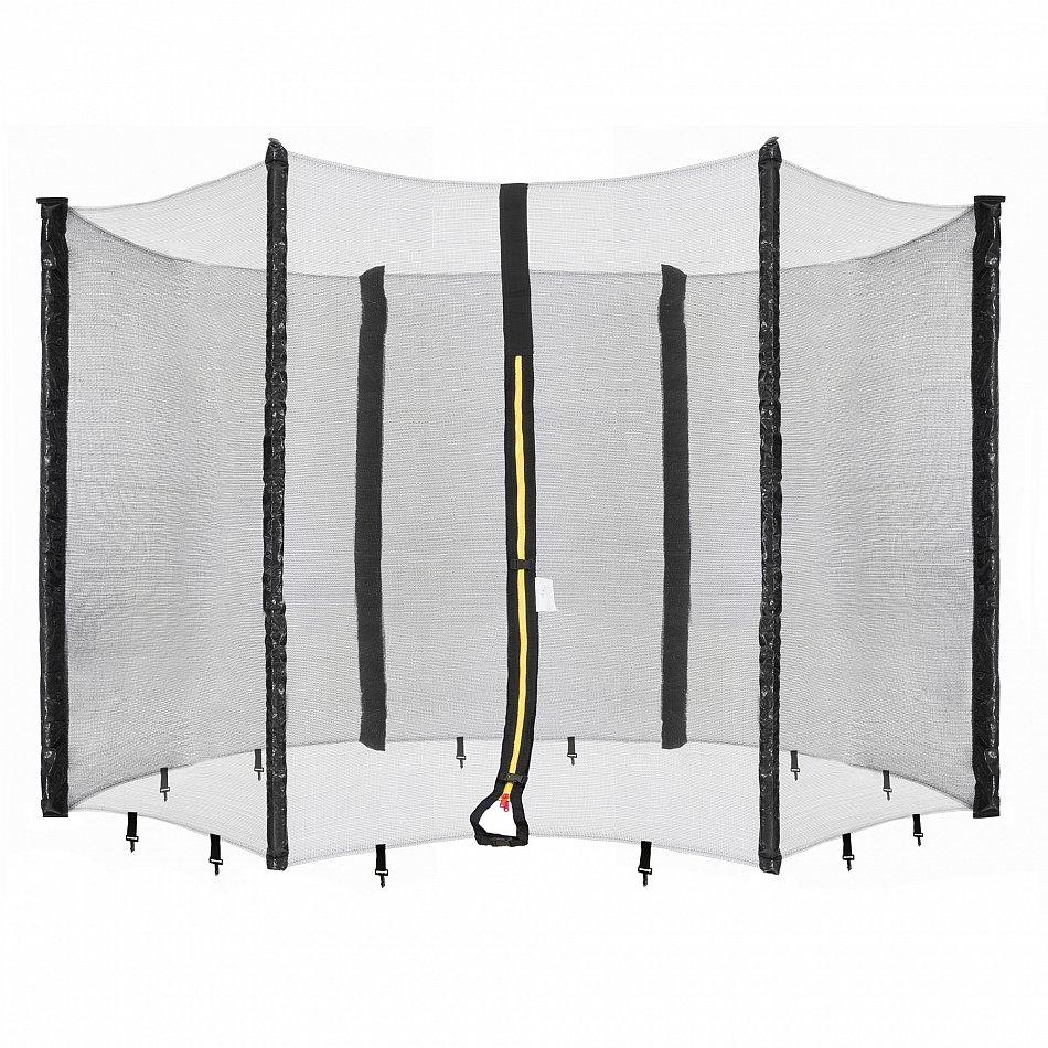 Arebos Trampolin Netz Sicherheitsnetz Fangnetz Schutznetz für 6 Stangen 366 cm