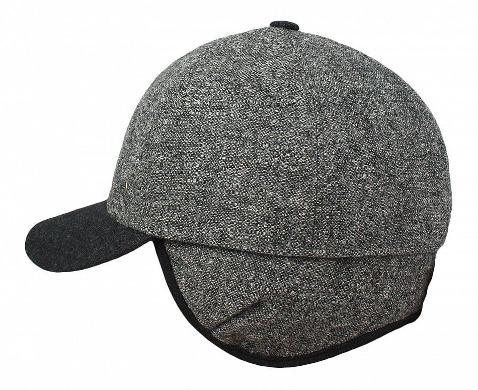 Herren Winter Warm Mütze Basecap mit Ohrenschützer Ohrenklappen