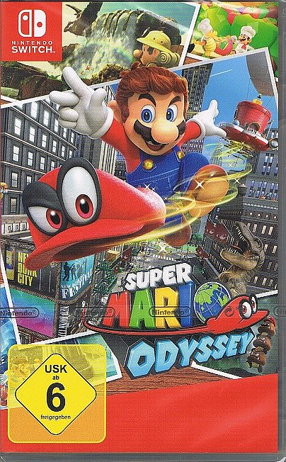 nintendo switch spiel super mario odyssey neu ebay. Black Bedroom Furniture Sets. Home Design Ideas
