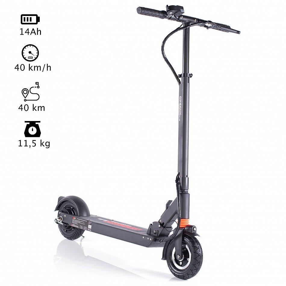 wizzard 2 0 e city scooter elektro roller klappbarer. Black Bedroom Furniture Sets. Home Design Ideas