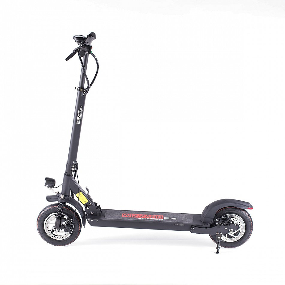 wizzard 2 5 elektroscooter tretroller e city scooter
