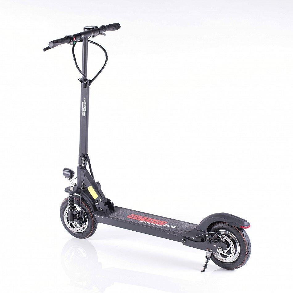 wizzard 2 5 elektroscooter tretroller e city scooter. Black Bedroom Furniture Sets. Home Design Ideas