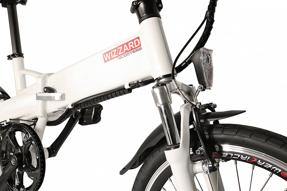 wizzard e bike elektrofahrrad e klapprad klappbares ebike. Black Bedroom Furniture Sets. Home Design Ideas