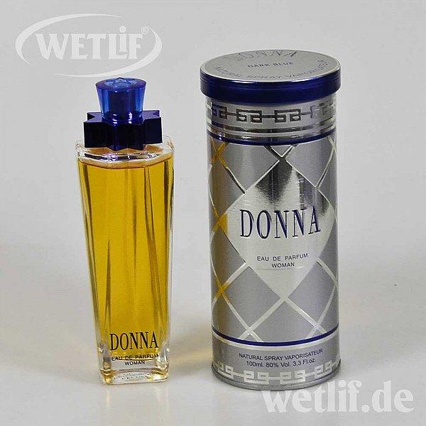 6 x donna dark blue eau de parfum natural spray 100ml woman 80 voll 100 ml 8712828100023 ebay. Black Bedroom Furniture Sets. Home Design Ideas