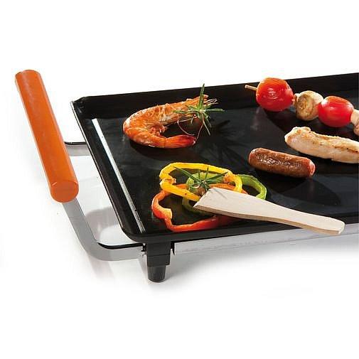 xl teppan yaki bratplatte grillplatte tischgrill partygrill elektrogrill 2100w ebay. Black Bedroom Furniture Sets. Home Design Ideas